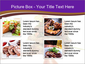 Gourmet Meat PowerPoint Template - Slide 14