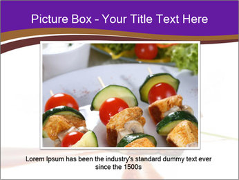 Gourmet Meat PowerPoint Template - Slide 15