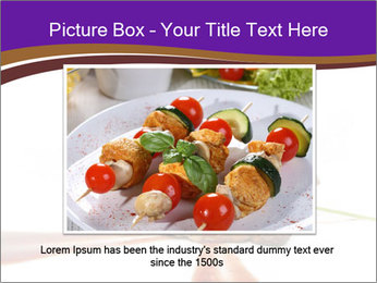 Gourmet Meat PowerPoint Template - Slide 16
