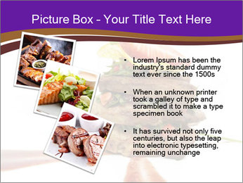Gourmet Meat PowerPoint Template - Slide 17