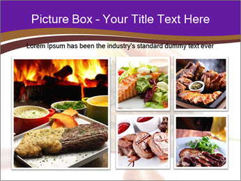 Gourmet Meat PowerPoint Template - Slide 19