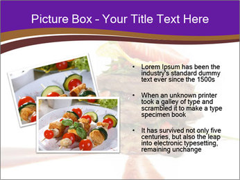 Gourmet Meat PowerPoint Template - Slide 20