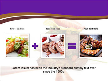 Gourmet Meat PowerPoint Template - Slide 22