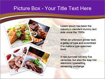 Gourmet Meat PowerPoint Template - Slide 23