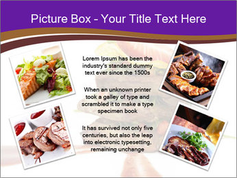 Gourmet Meat PowerPoint Template - Slide 24