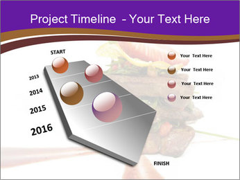 Gourmet Meat PowerPoint Template - Slide 26