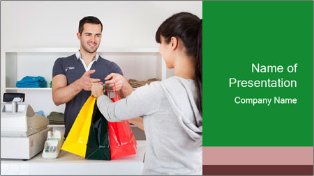 Shopper Family PowerPoint Template