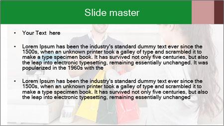 Shopper Family PowerPoint Template - Slide 2