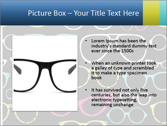Colorful Sunglasses PowerPoint Templates - Slide 13