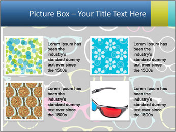 Colorful Sunglasses PowerPoint Template - Slide 14