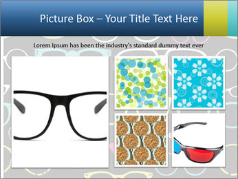 Colorful Sunglasses PowerPoint Templates - Slide 19