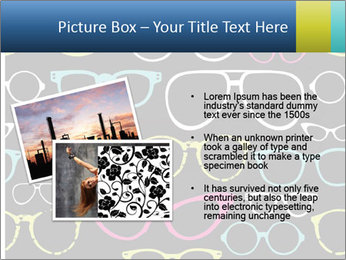 Colorful Sunglasses PowerPoint Templates - Slide 20