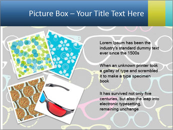 Colorful Sunglasses PowerPoint Templates - Slide 23