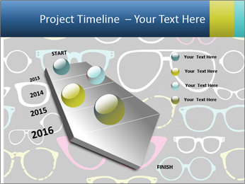 Colorful Sunglasses PowerPoint Template - Slide 26