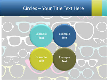 Colorful Sunglasses PowerPoint Template - Slide 38