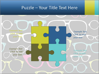 Colorful Sunglasses PowerPoint Templates - Slide 43