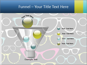 Colorful Sunglasses PowerPoint Templates - Slide 63