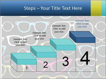 Colorful Sunglasses PowerPoint Templates - Slide 64