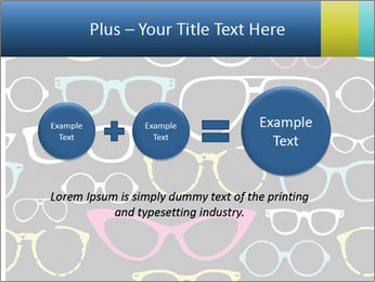 Colorful Sunglasses PowerPoint Template - Slide 75