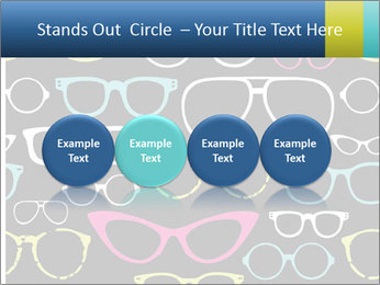 Colorful Sunglasses PowerPoint Templates - Slide 76