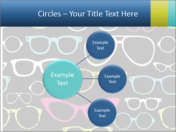 Colorful Sunglasses PowerPoint Templates - Slide 79