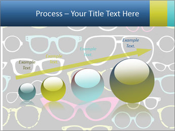 Colorful Sunglasses PowerPoint Templates - Slide 87