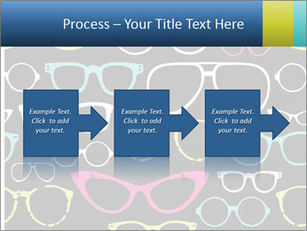 Colorful Sunglasses PowerPoint Templates - Slide 88