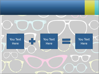 Colorful Sunglasses PowerPoint Template - Slide 95