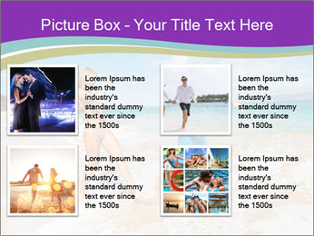 Couple Playing In Water PowerPoint Template - Slide 14