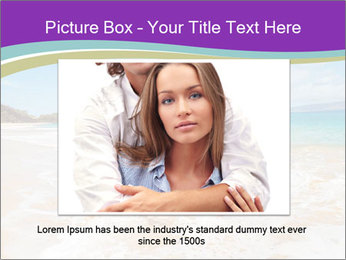 Couple Playing In Water PowerPoint Template - Slide 16