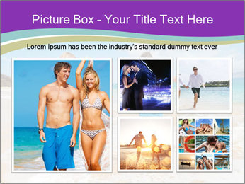 Couple Playing In Water PowerPoint Template - Slide 19