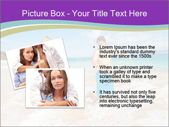 Couple Playing In Water PowerPoint Template - Slide 20