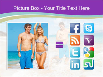 Couple Playing In Water PowerPoint Template - Slide 21