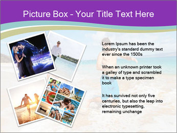 Couple Playing In Water PowerPoint Template - Slide 23