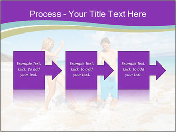 Couple Playing In Water PowerPoint Template - Slide 88