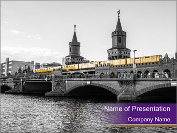 Gothic Building PowerPoint Template - Slide 1
