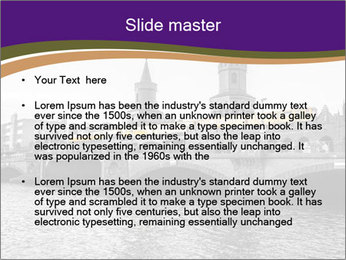 Gothic Building PowerPoint Template - Slide 2