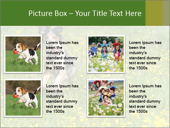 Happy Dog PowerPoint Template - Slide 14