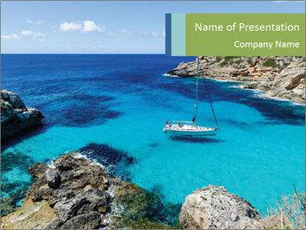 Sea Scene PowerPoint Template - Slide 1