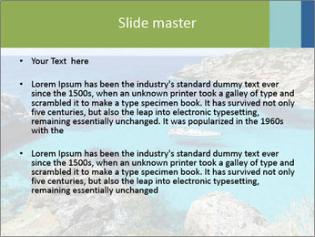Sea Scene PowerPoint Template - Slide 2