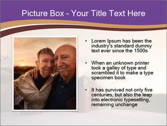 Elderly Couple PowerPoint Templates - Slide 13