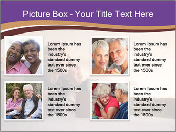 Elderly Couple PowerPoint Templates - Slide 14