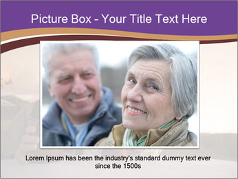 Elderly Couple PowerPoint Templates - Slide 15