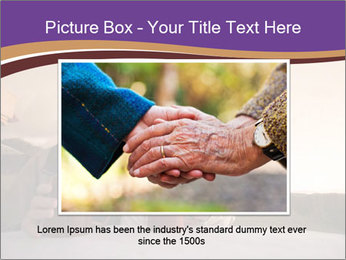Elderly Couple PowerPoint Templates - Slide 16