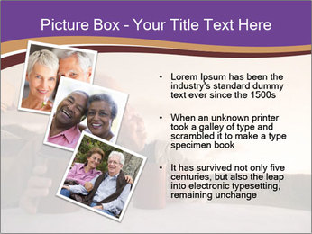 Elderly Couple PowerPoint Templates - Slide 17