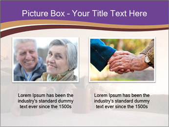 Elderly Couple PowerPoint Templates - Slide 18