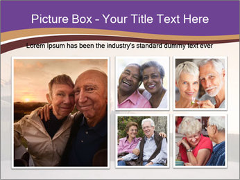 Elderly Couple PowerPoint Templates - Slide 19