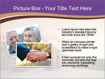 Elderly Couple PowerPoint Templates - Slide 20