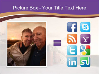 Elderly Couple PowerPoint Templates - Slide 21