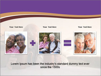 Elderly Couple PowerPoint Templates - Slide 22